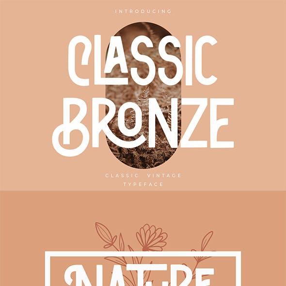 Classic Bronze | Vintage Sans
