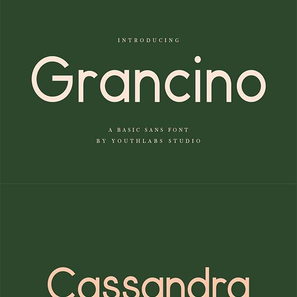 Grancino - Modern Sans Serif