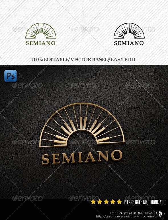Semiano Logo Template - Abstract Logo Templates