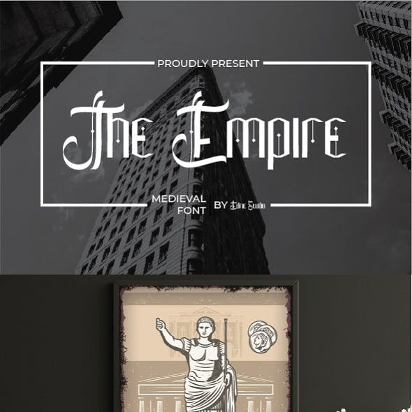 The Empire Medieval Font