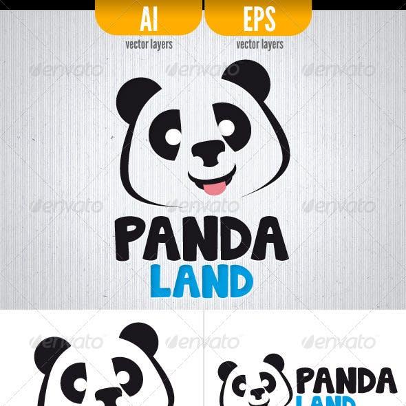 Panda Land - Logo Template