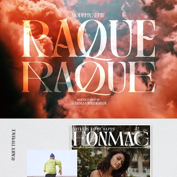 Raque - Modern Serif