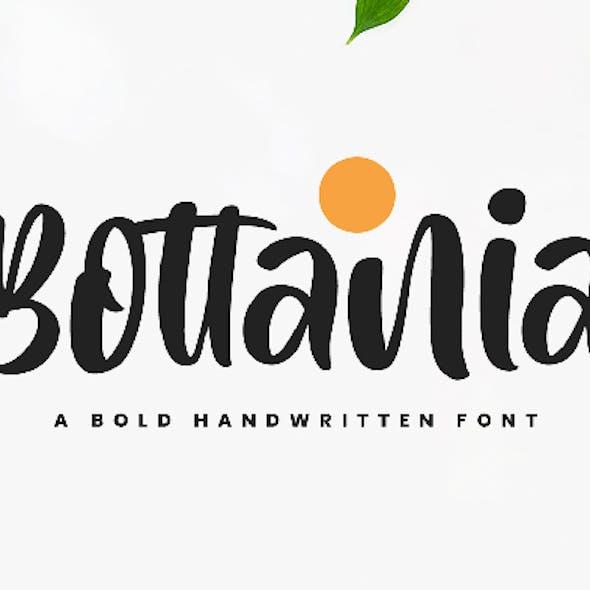 Bottania Bold Font