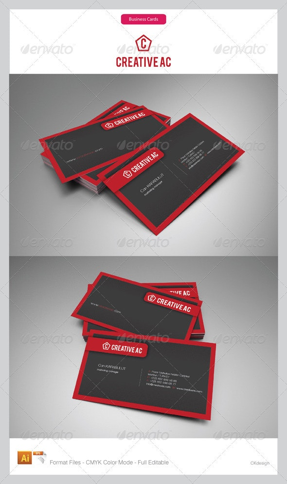 Corporate Business Cards 64-3 - Corporate Business Cards