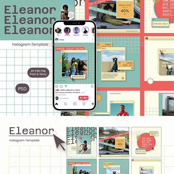 Eleanor - Instagram Template