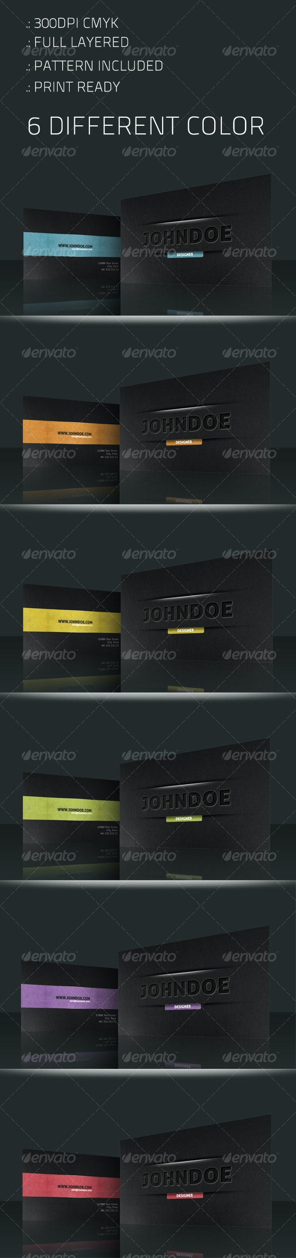 Concept Vision Business Card - Corporate Business Cards