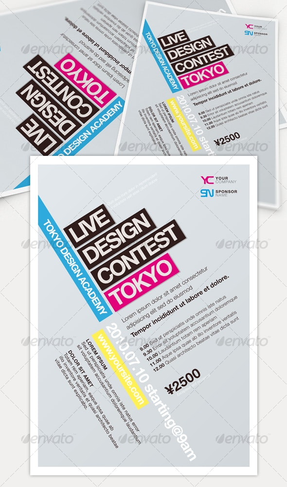 Get Minimal - Flyer 02 - Miscellaneous Events