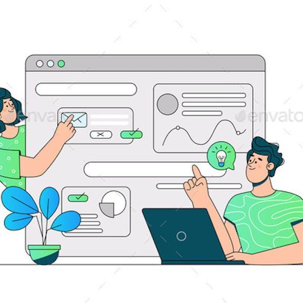 Communication Via Website or Messenger