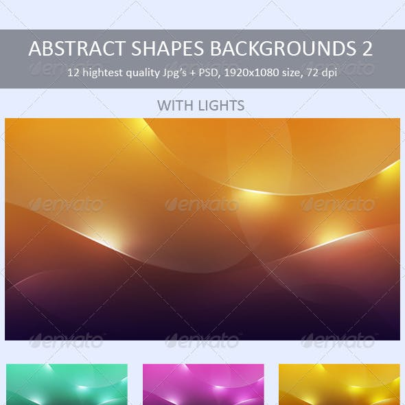 Abstract Shapes Backgrounds 2