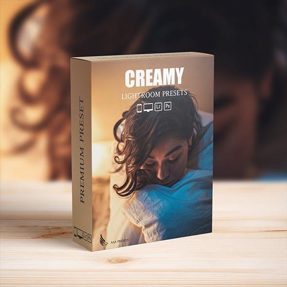Cinematic Cream Lightroom Presets for mobile and desktop