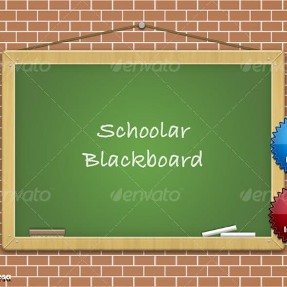 School Blackboard Graphic