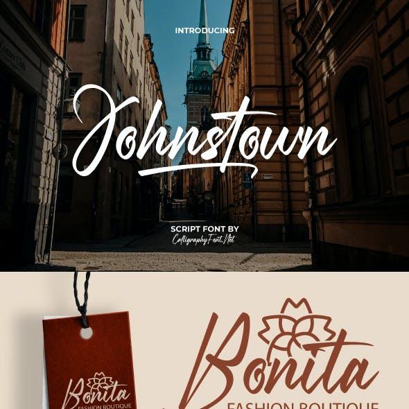 Johnstown Signature Font