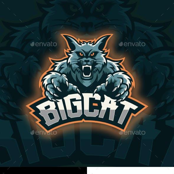 Cat Mascot Logo
