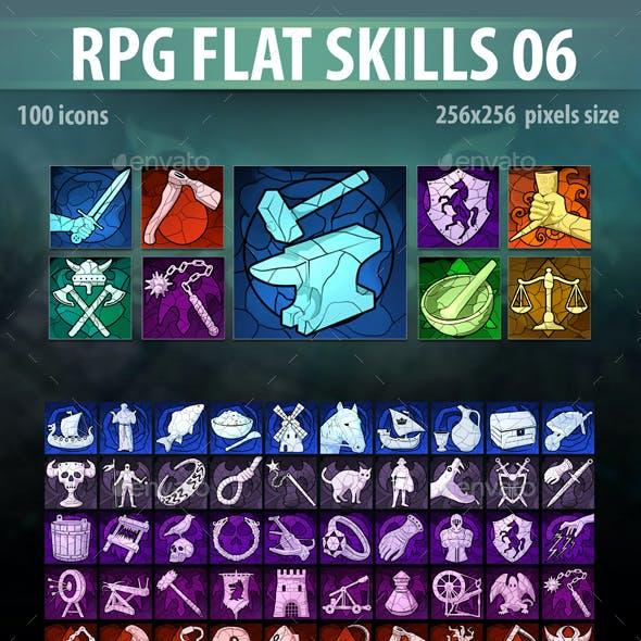 RPG Flat Skills 06
