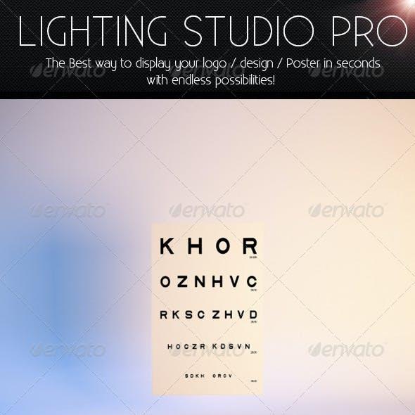 Mock-up Light Studio for Photoshop