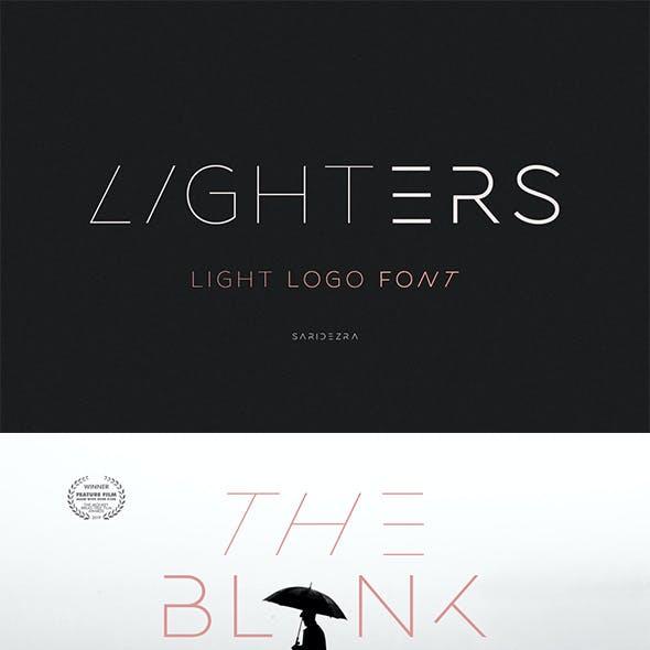 Lighters - Light Logo Font