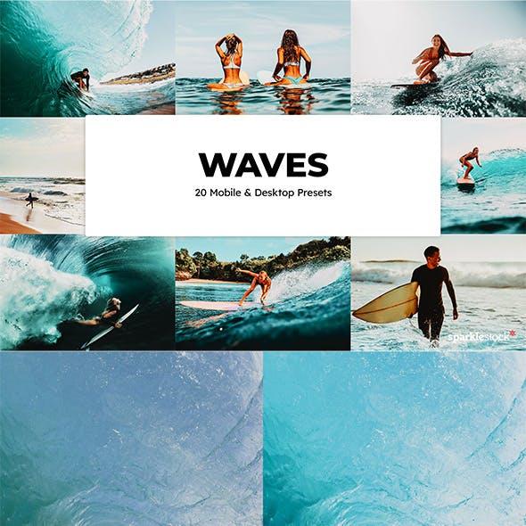 20 Waves Lightroom Presets
