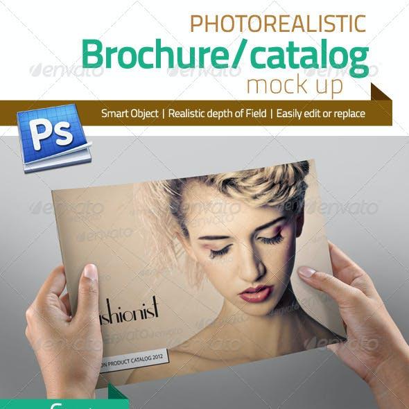Professional Brochure/Catalog Mock Up