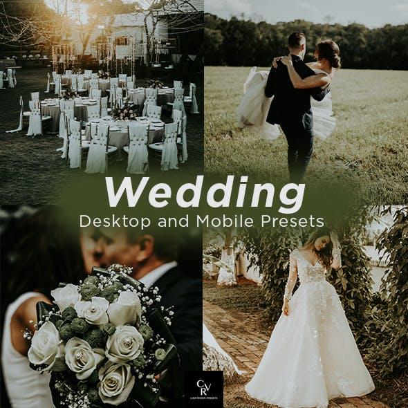 8 Wedding Lightroom Presets