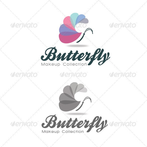 Butterfly - Makeup Collection - Nature Logo Templates