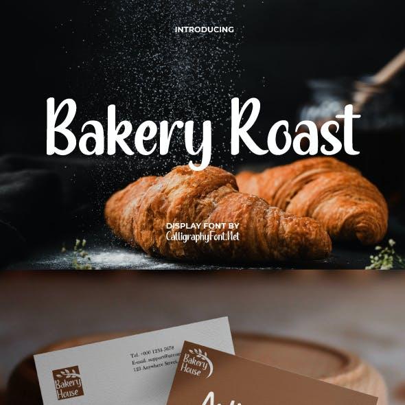 Bakery Roast Sans Serif Font