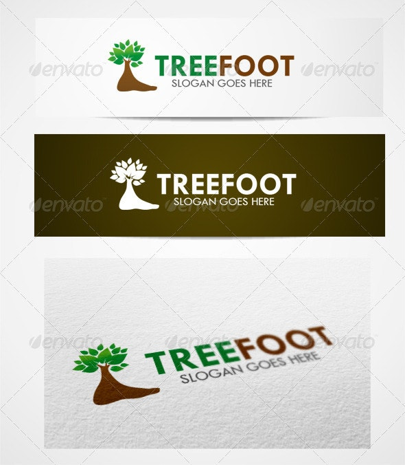 Logo treefoot templates - Abstract Logo Templates