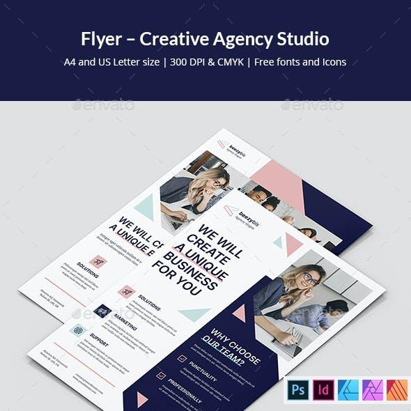 Creative Agency Studio Flyer