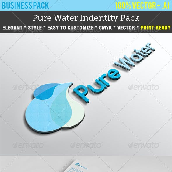 Pure Water Indentity Pack