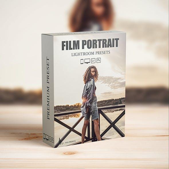 Cinematic Portrait Lightroom Presets For Mobile and desktop