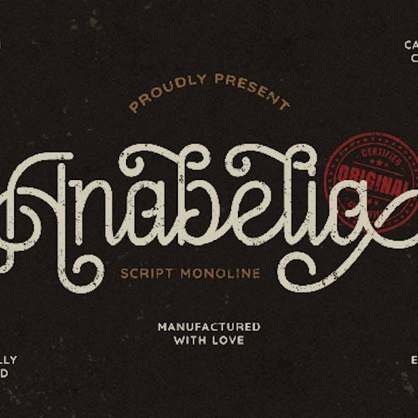 Anabelia - Vintage Monoline