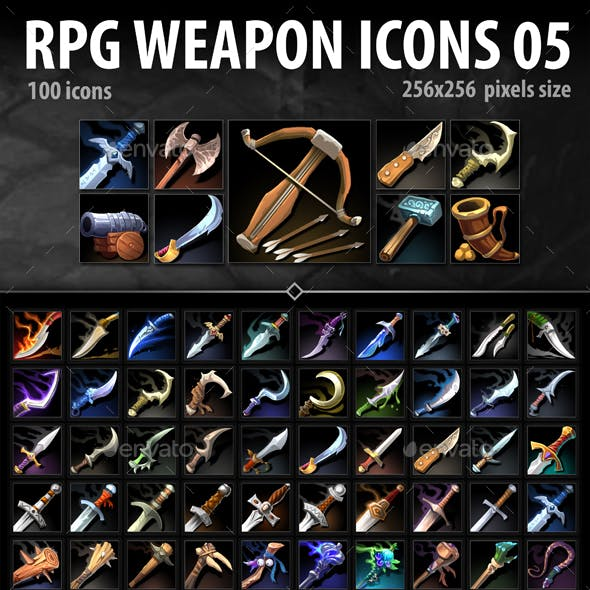 RPG Weapon Icons 05