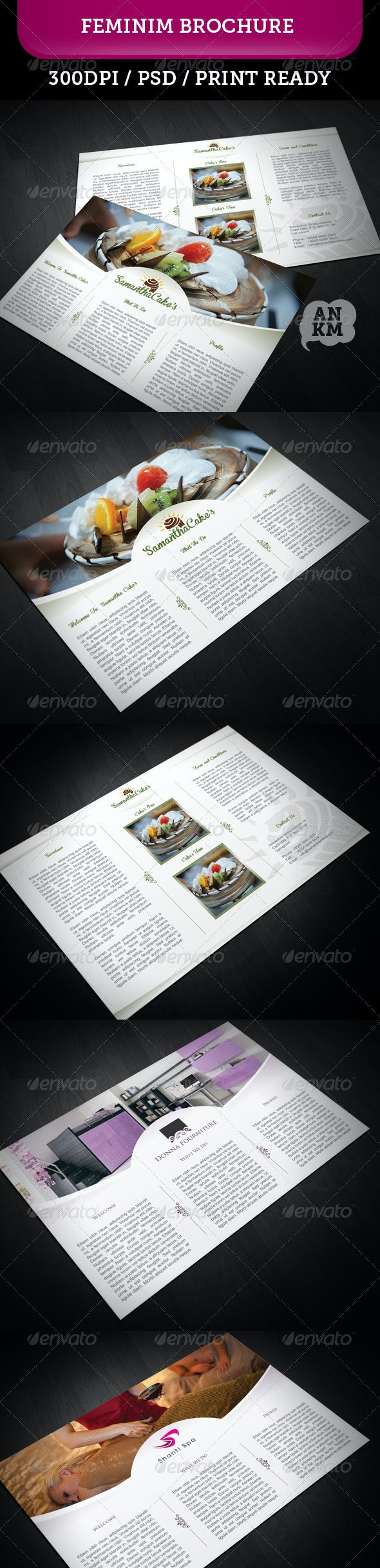 Feminim Brochure - Brochures Print Templates
