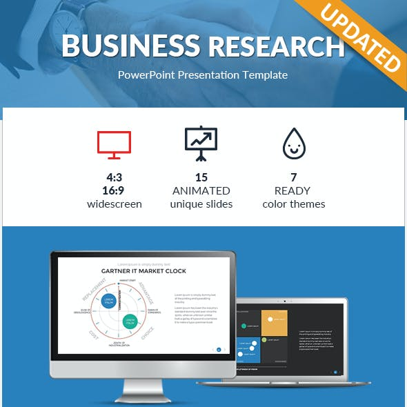 Business Research PowerPoint Template