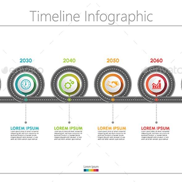 Roadmap Infographics Template