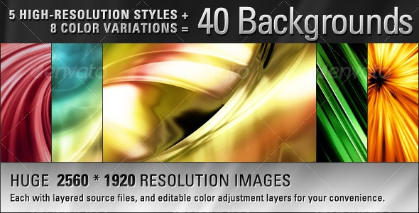 Abstract Background Pack - Abstract Backgrounds