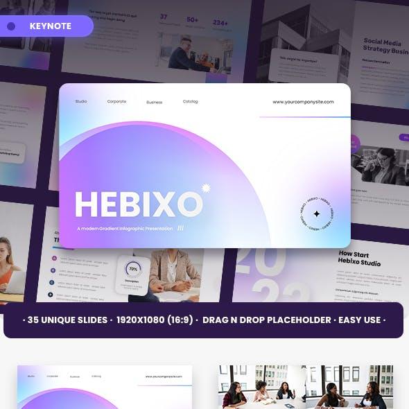Hebixo Keynote Templates