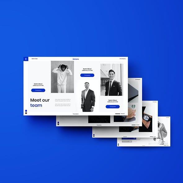Matane – Business PowerPoint Template