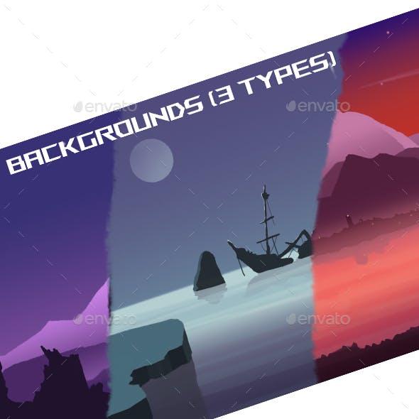 Backgrounds for Games (landscape)