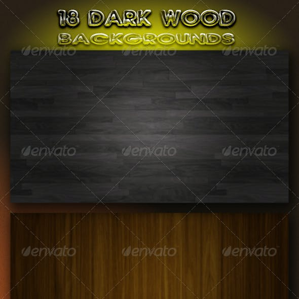 18 Dark Wood Backgrounds