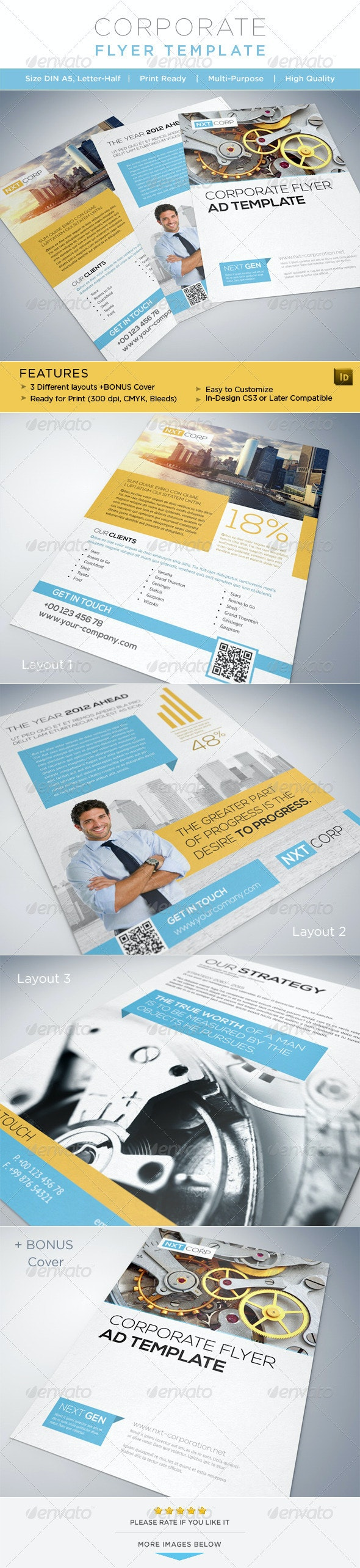 Corporate Flyer / AD Template - Corporate Flyers