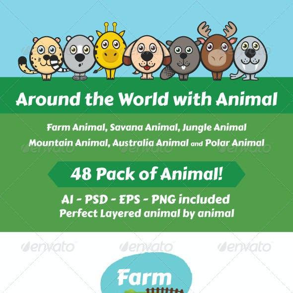 Around The World With Animals