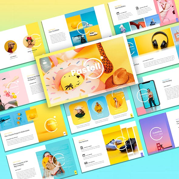 Pastell – Creative Business Keynote Template