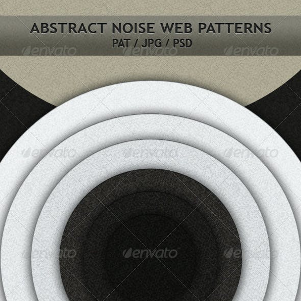 Abstract Noise Web Patterns