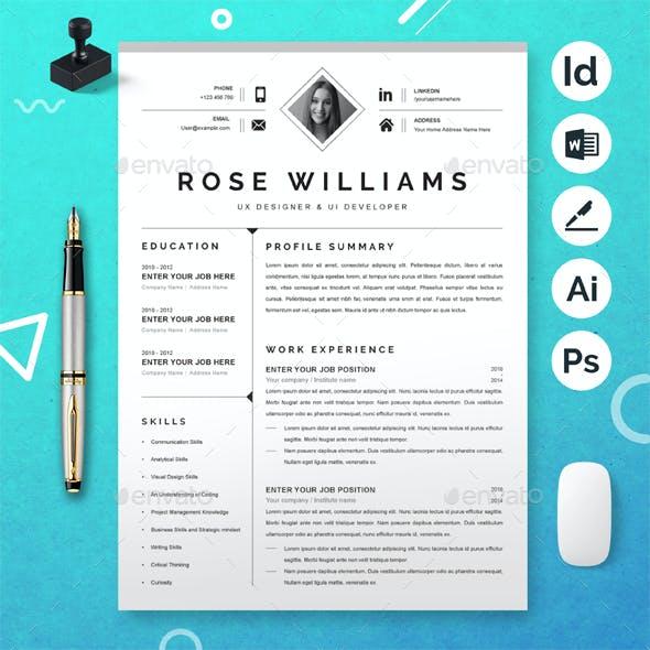UX / UI Designer Resume
