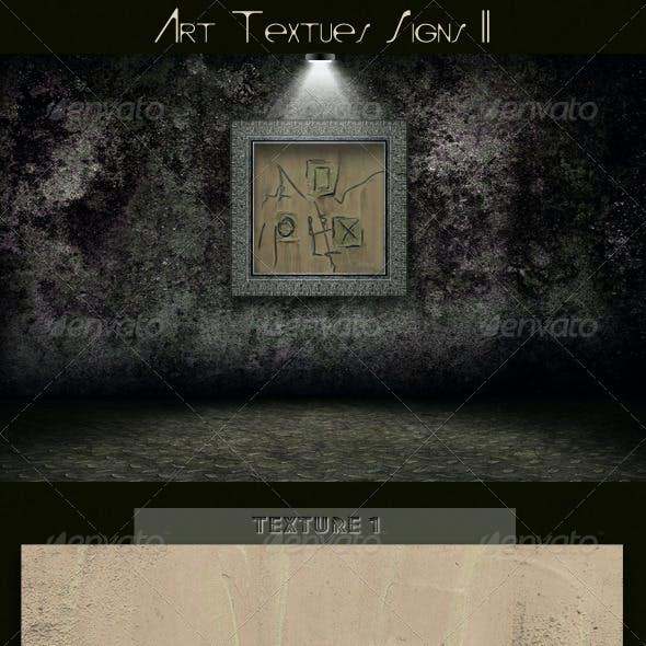 Art Textures Signs II
