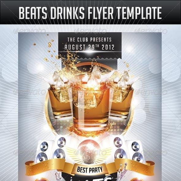 Beats Drinks Flyer