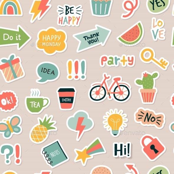 Planner Sticker Pattern