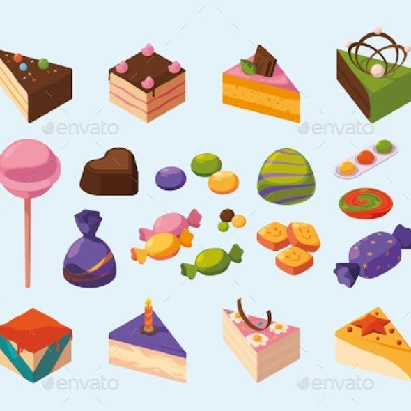 Candy Isometric