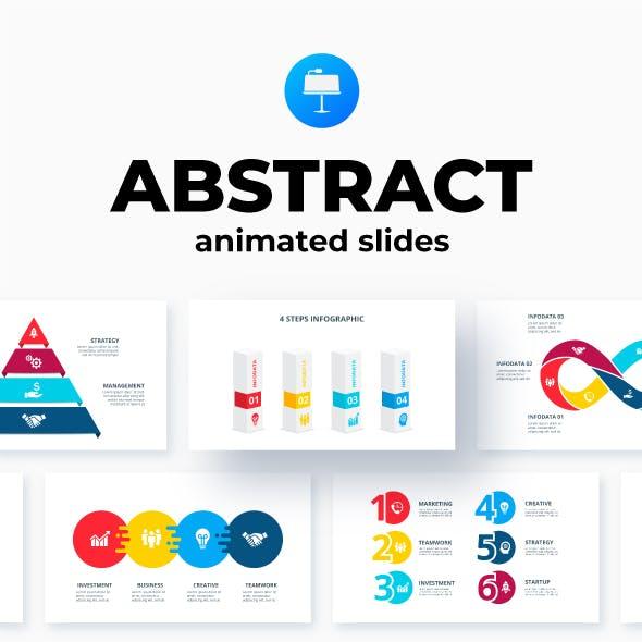 Abstract Keynote Infographics Presentation