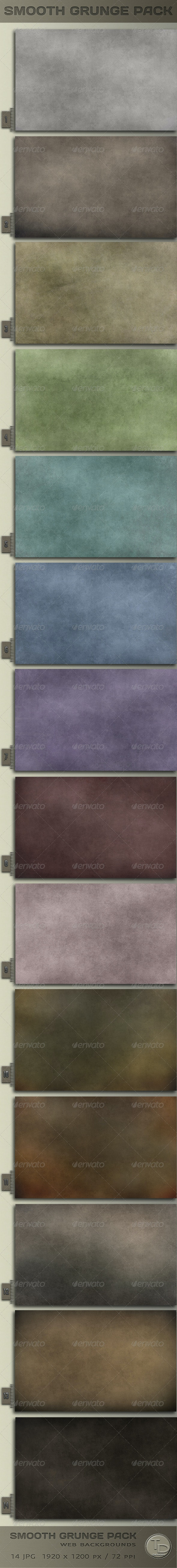 Smooth Grunge Pack - Miscellaneous Backgrounds